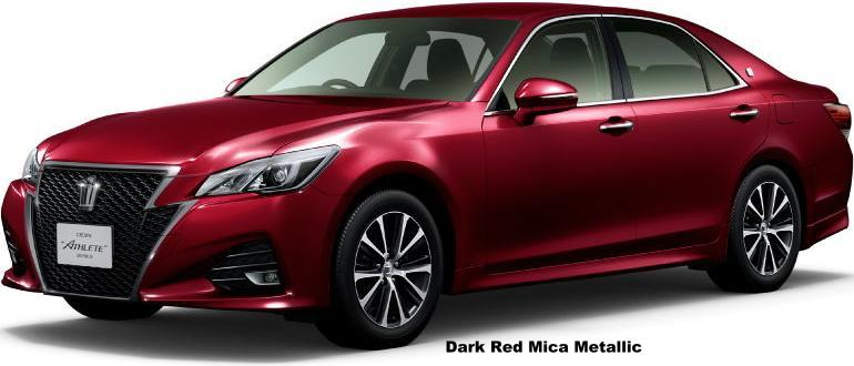 new toyota crown athlete hybrid body color photo exterior
