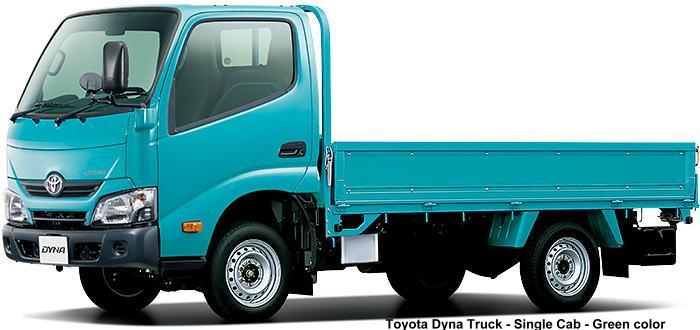 New Toyota Dyna Truck photo: Single Cab, Green body color