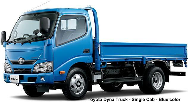 New Toyota Dyna Truck photo: Single Cab, Blue body color