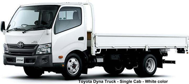 New Toyota Dyna Truck photo: Single Cab, White body color