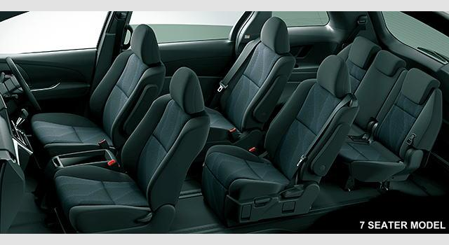 New Toyota Estima photo: 7 seater interior