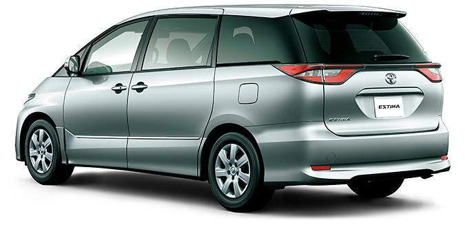 New Toyota Estima photo: Rear view