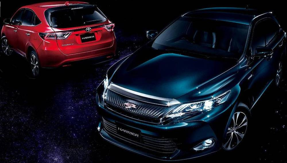 New New Toyota Harrier photo: Front image, Rear picture