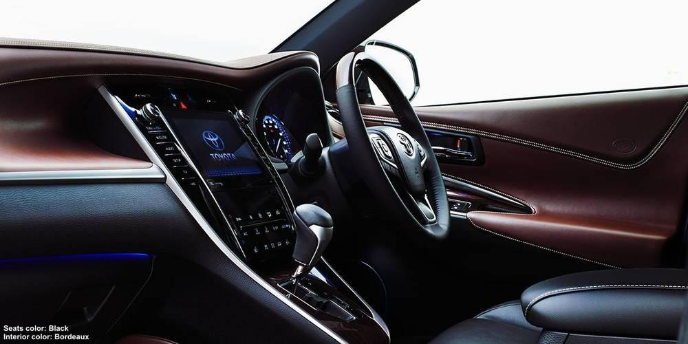 New New Toyota Harrier photo: Cockpit image (Panel picture) 3