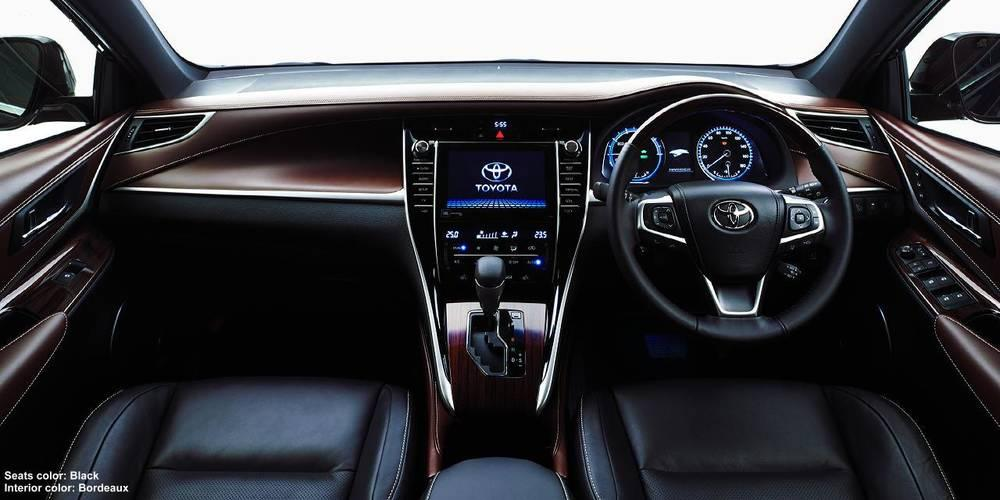 New New Toyota Harrier photo: Cockpit image (Panel picture) 4