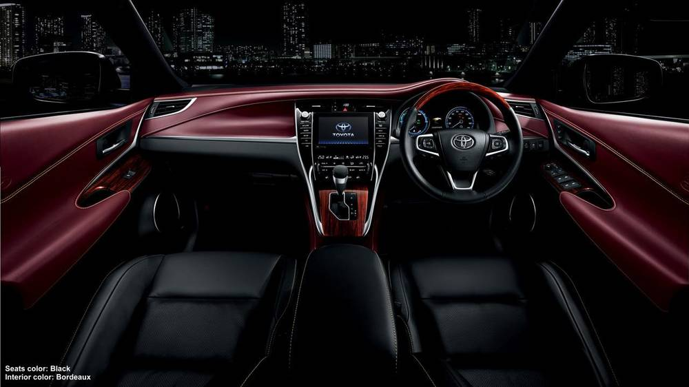 New New Toyota Harrier photo: Cockpit image (Panel picture) 5