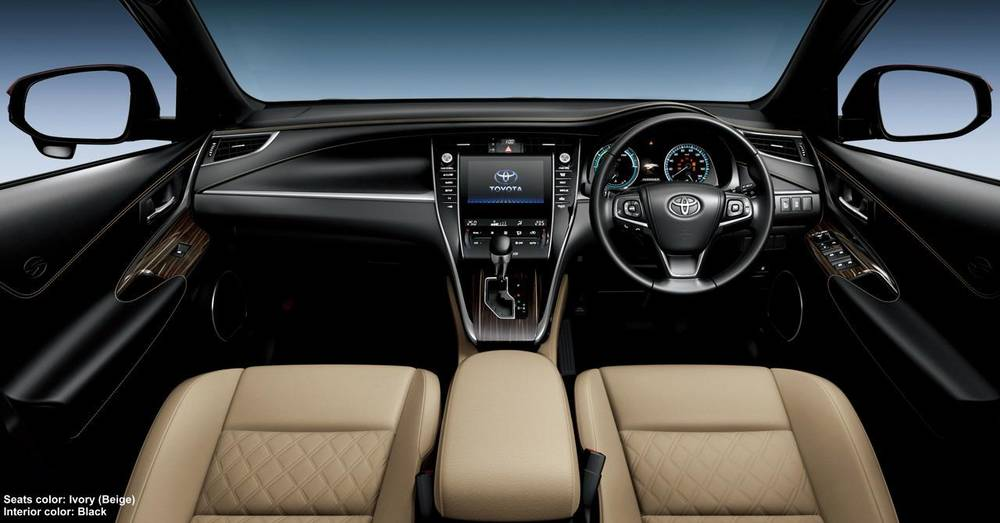 New New Toyota Harrier photo: Cockpit image (Panel picture) 6