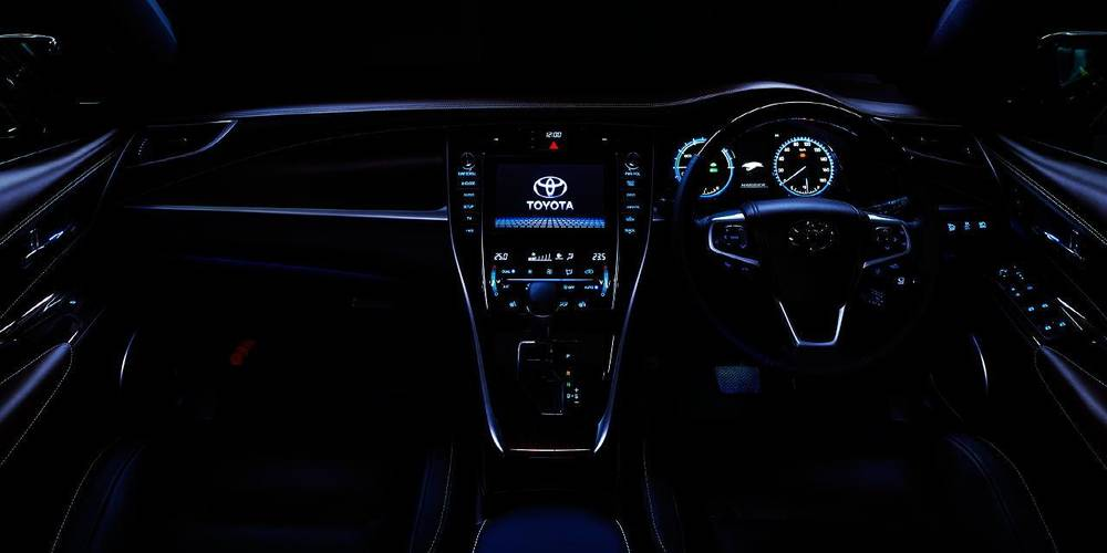 New New Toyota Harrier photo: Cockpit image (Panel picture) 9