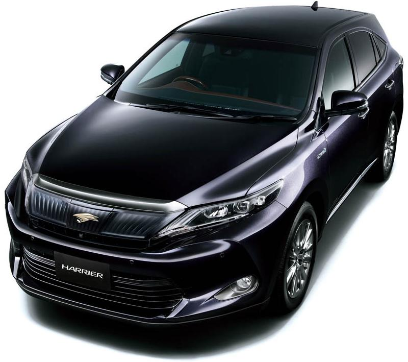 New New Toyota Harrier photo: Front image / picture 1