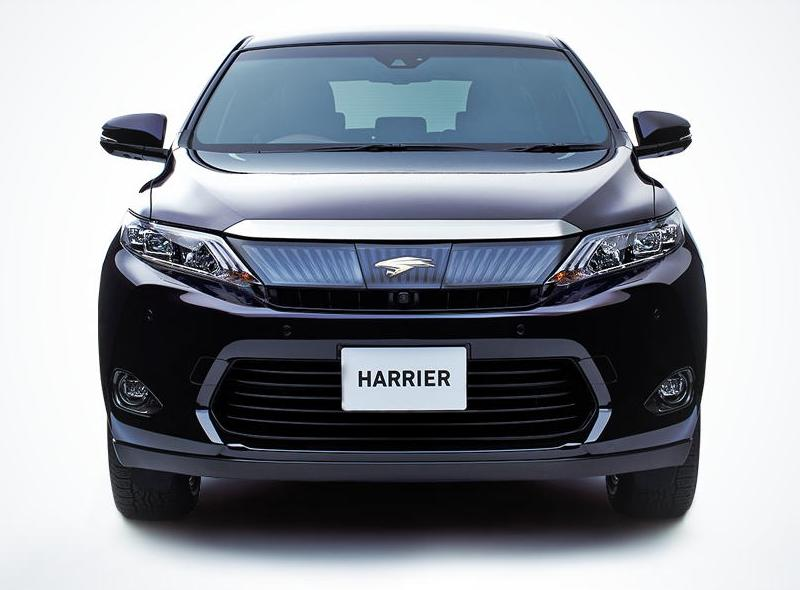 New New Toyota Harrier photo: Front image / picture 3