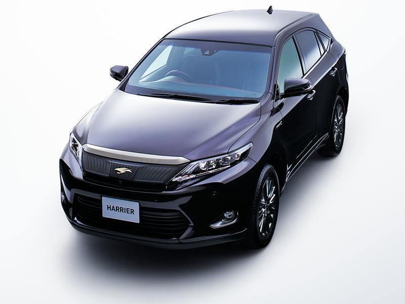 New New Toyota Harrier photo: Front image / picture 4