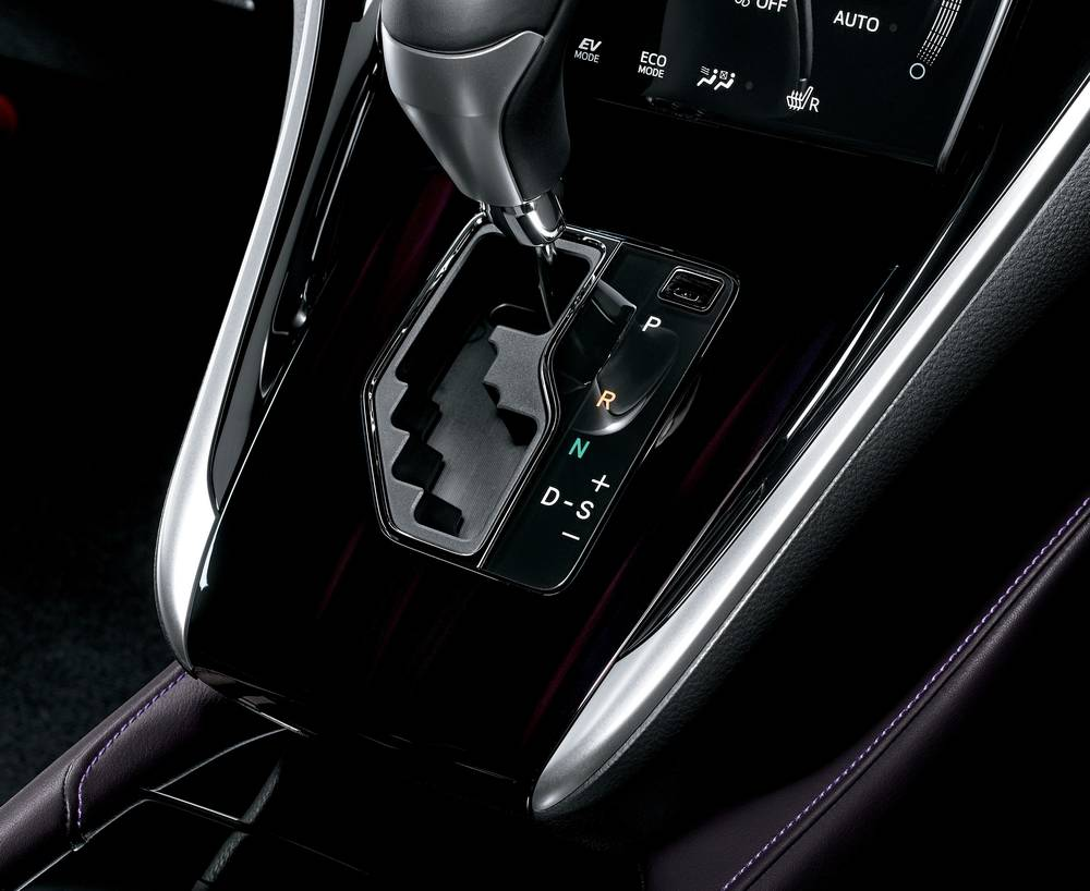 New New Toyota Harrier photo: Transmission image (Shift-Knob picture)