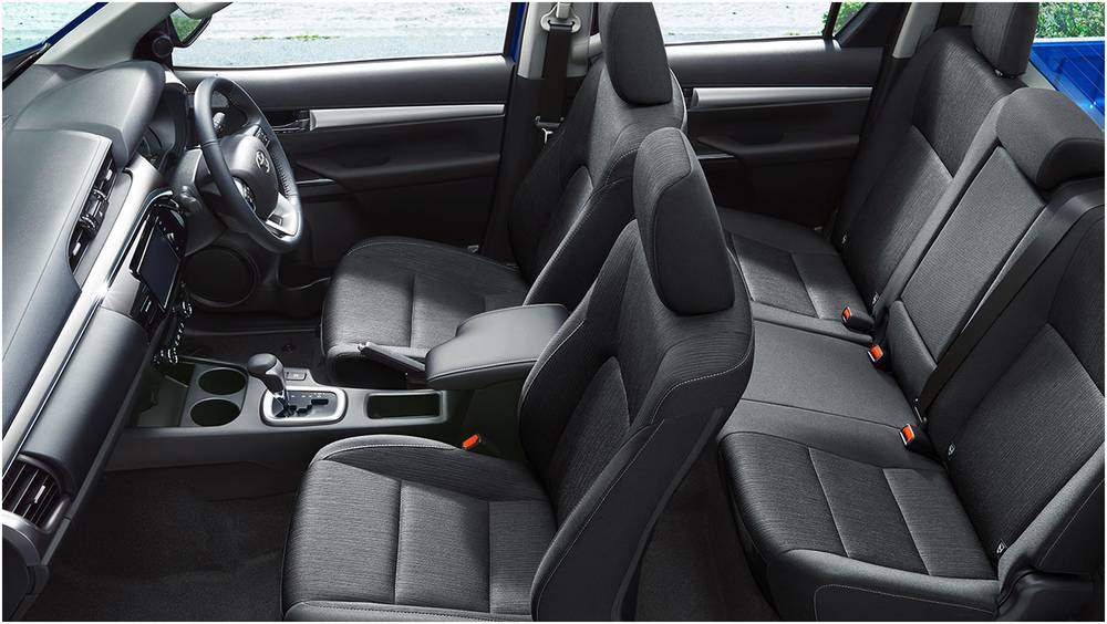 New Toyota Hilux Double Cabin pick up photo: Interior view