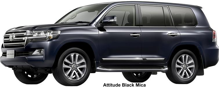 New Toyota Land Cruiser 200 Body Colors Photo Exterior