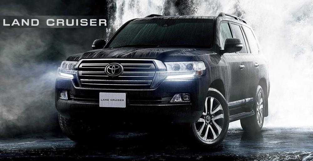 New Toyota Land Cruiser-200 photo: Front view image