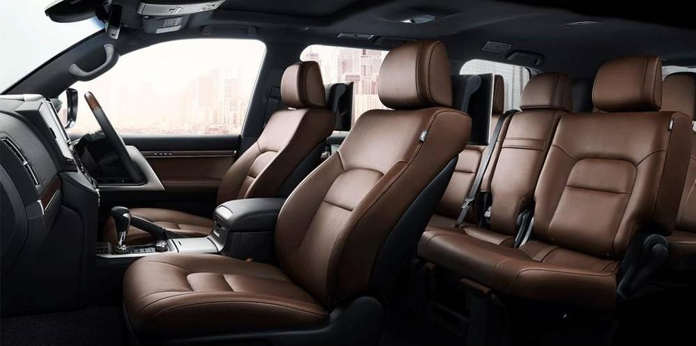 New Toyota Land Cruiser-200 photo: Interior image (inside picture)