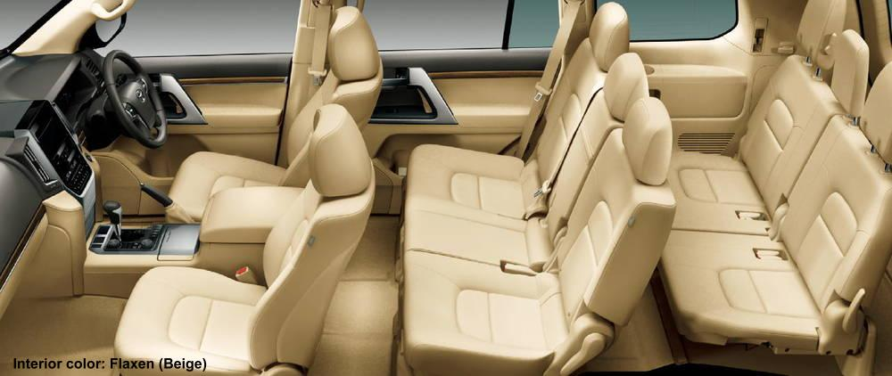 new toyota land cruiser 200 interior photo image picture