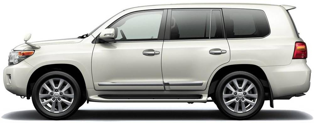 New Toyota Land Cruiser-200 photo: Side image (Side picture)