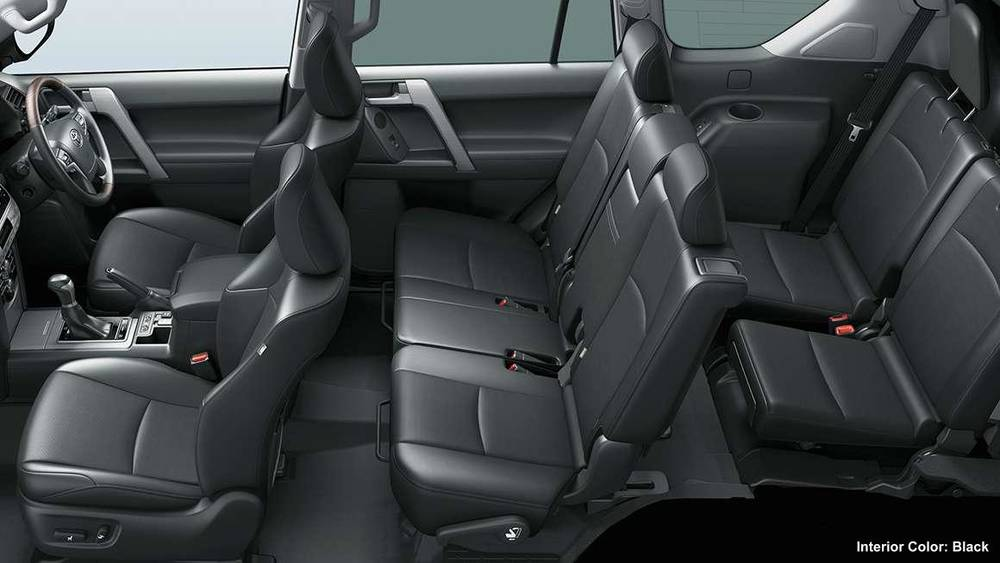 New Toyota Land Cruiser Prado Interior Colors Full