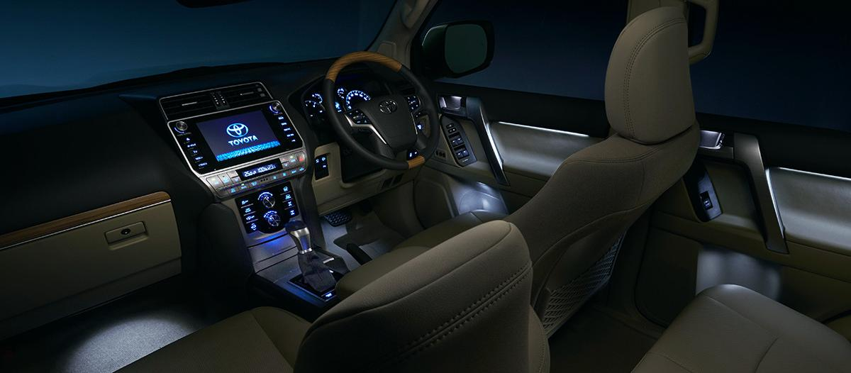 New Toyota Land Cruiser Prado picture: Interior image night