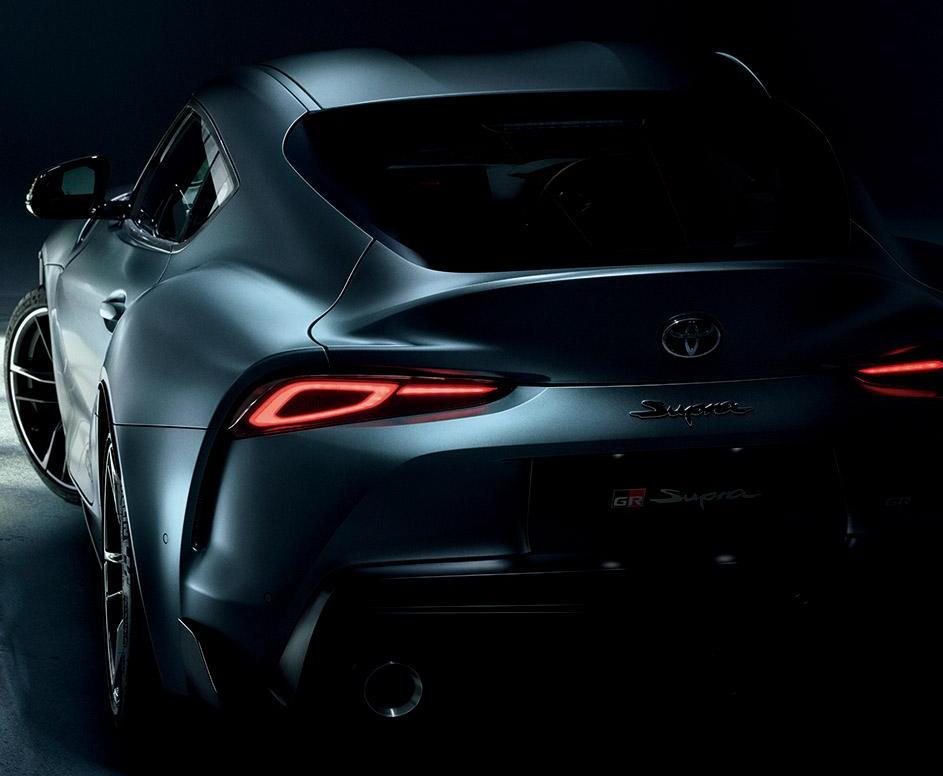 New Toyota Supra photo: Rear view 3