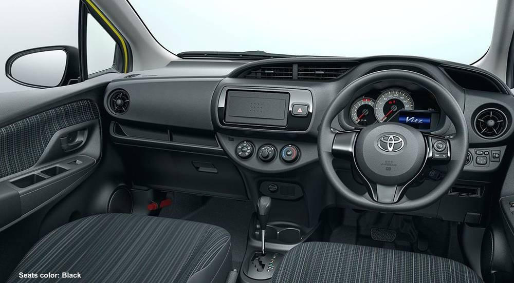 New Toyota Vitz Hybrid Cockpit Picture Driver Seat Photo