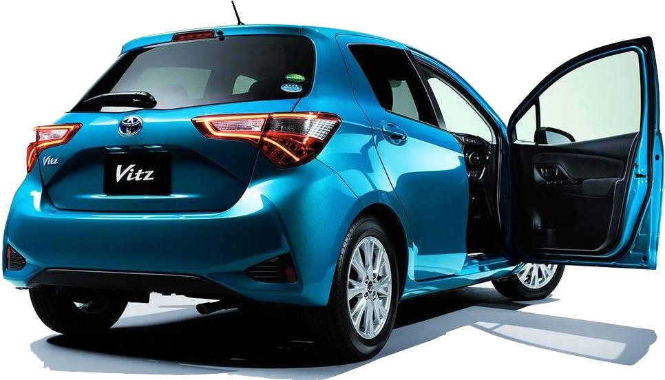 New Toyota Vitz Back Photo Image Rear Picture