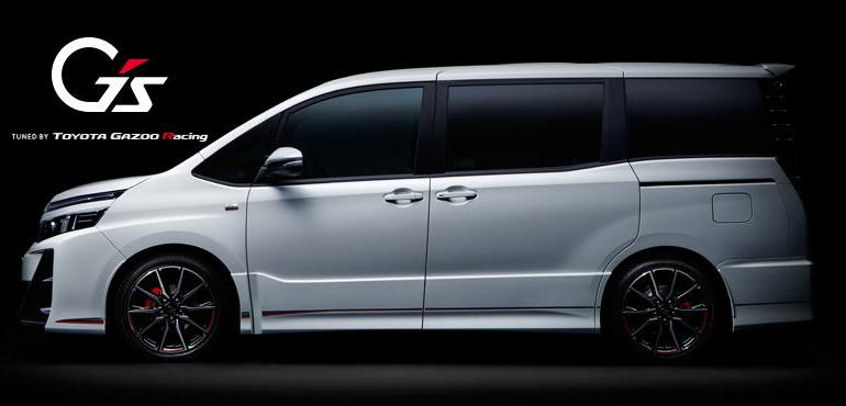 new toyota voxy gs sport side view picture side photo and