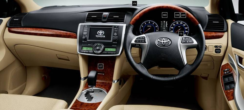 New Toyota Allion photo: Cockpit image