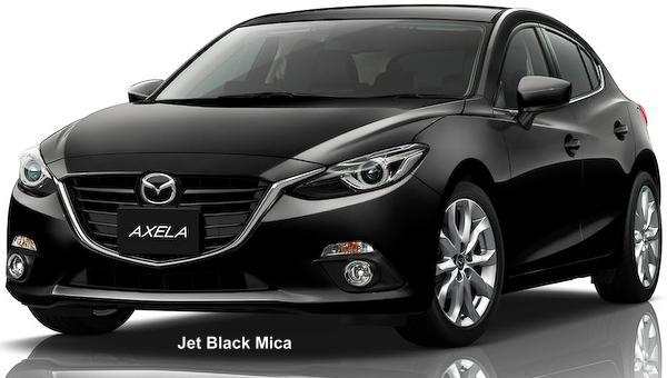 New Mazda Axela Sedan Body Color Photo Exterior Colour