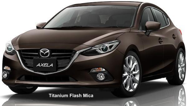 New Mazda Axela Sedan Body Color Photo Exterior Colour