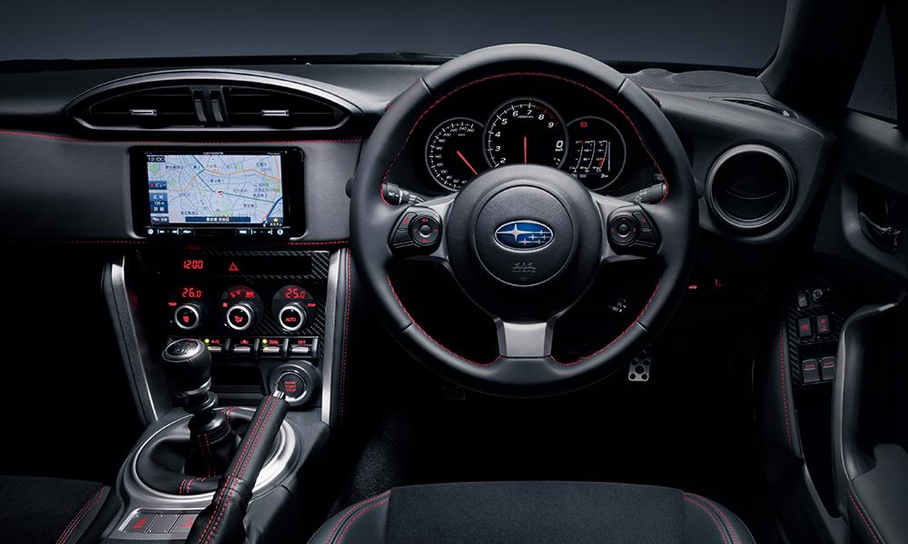New Subaru BRZ photo: Cockpit view