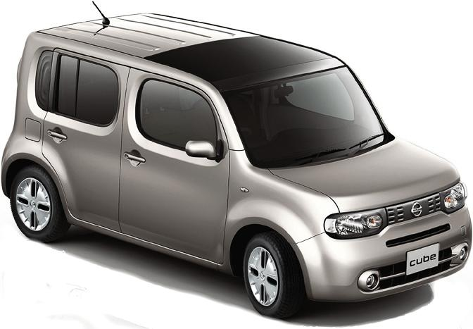 New Nissan Cube photo: Front view