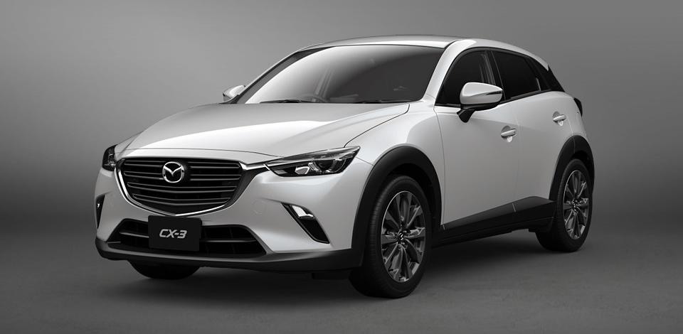 New Mazda CX3 photo: Front view