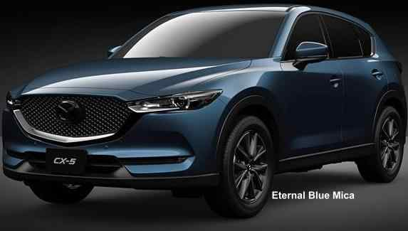 New Mazda Cx5 Body Colors Full Variation Of Exterior Colours Selection
