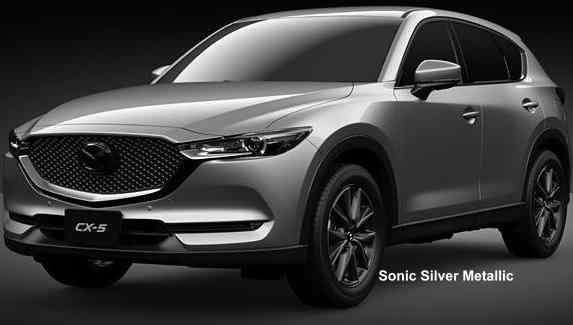 Mazda Cx 5 >> New Mazda CX5 Body colors, Full variation of exterior colours selection