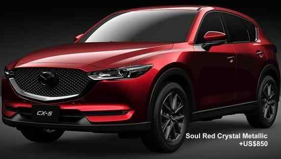 New Mazda Cx5 Body Colors Full Variation Of Exterior