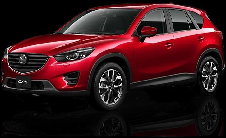 New Mazda CX5 photo: Front image