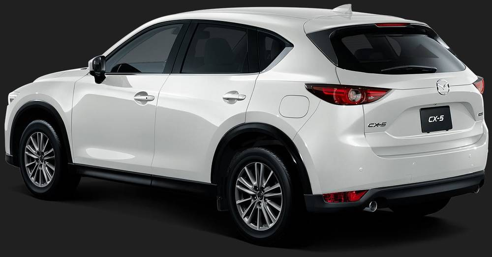New Mazda Cx5 Back Picture Rear View Photo And Exterior Image
