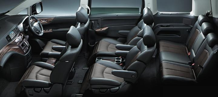 New Nissan Elgrand photo: Interior view