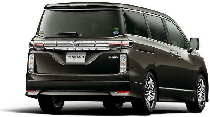 New Nissan Elgrand photo: Back view