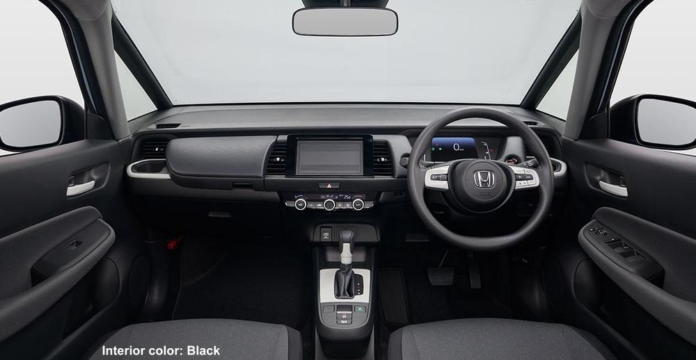 New Honda Fit photo: Cockpit view image (Black)