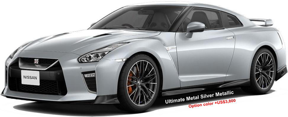 New Nissan GTR Body colors, Full variation of exterior ...