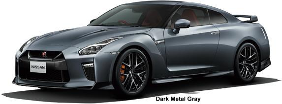 New Nissan GTR body color: DARK METAL GRAY