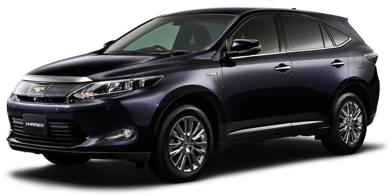 Back To New Toyota Harrier Page Back To New Toyota Harrier Hybrid