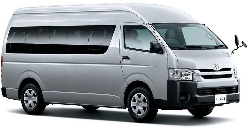 New Hiace Commuter picture: 14 Seater image