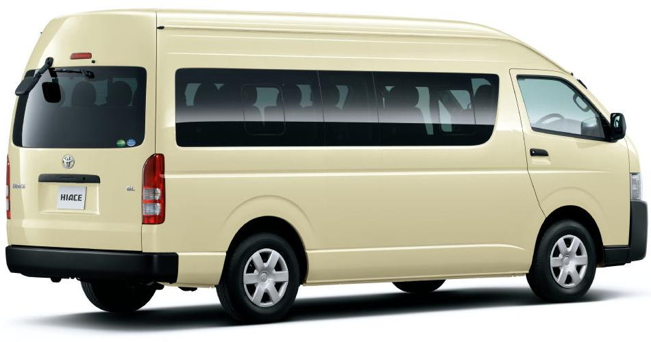 New Hiace Commuter picture: Back image