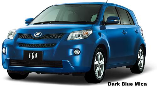 The Car Company >> New Toyota Ist Body color photo, Exterior colour picture ...