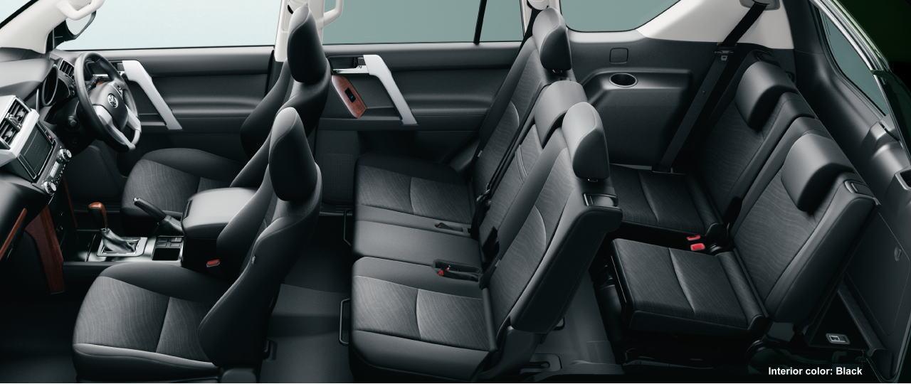 New Toyota Land Cruiser Prado Interior Colors Photo