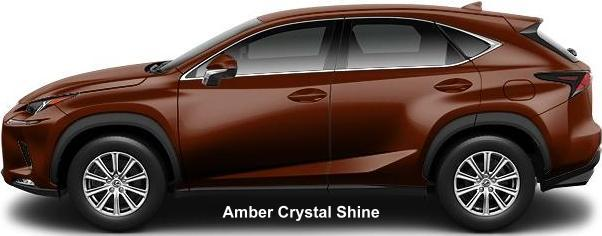 New Lexus NX300h body color: AMBER CRYSTAL SHINE